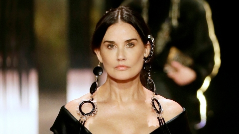 Demi Moore Walking The Fendi Runway At PFW Is So Random | StyleCaster