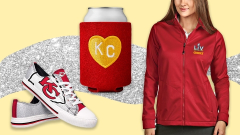 Order This Kansas City Chiefs Merch Now To Complete Your Super Bowl 'Fit   StyleCaster