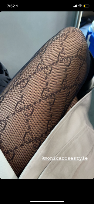 gucci tights Chrissy Teigen Wore My Dream Gucci Tights To The Inauguration