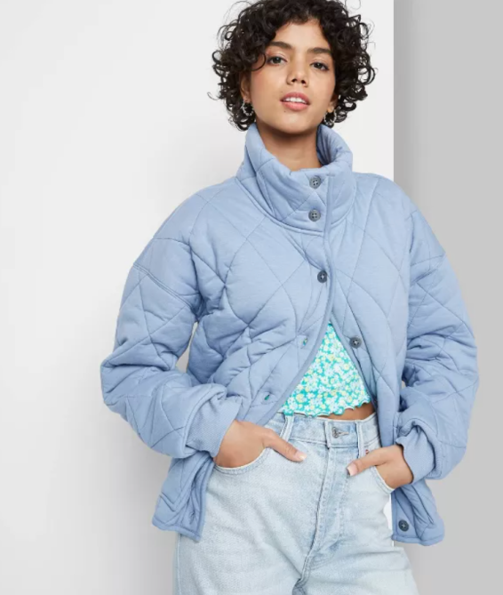 STYLECASTER | Wild Fable Quilted Jacket