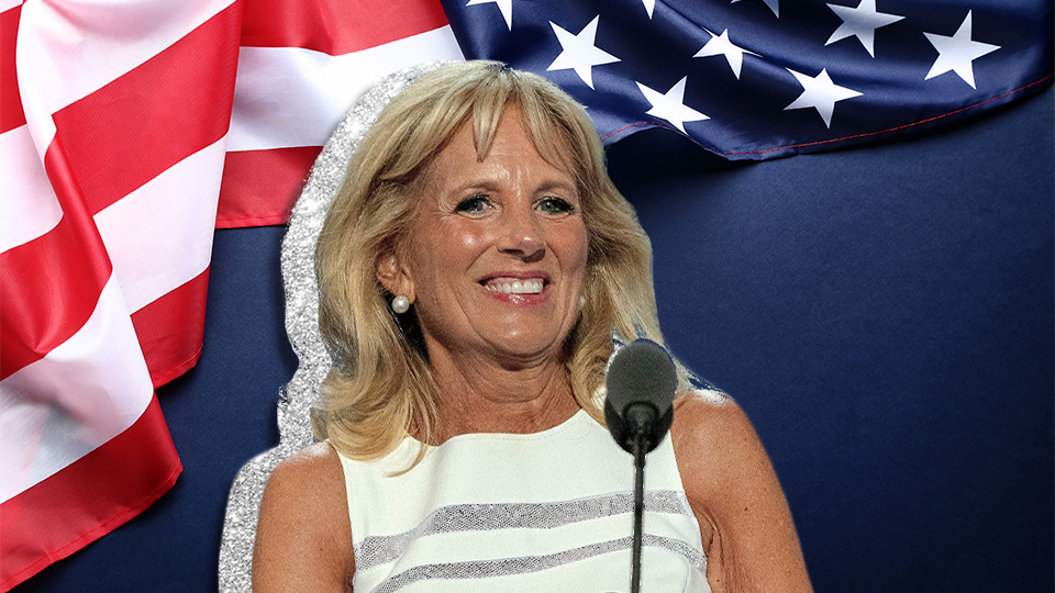 Dr. Jill Biden Wore Sparkles To The Inauguration & I'm Screaming