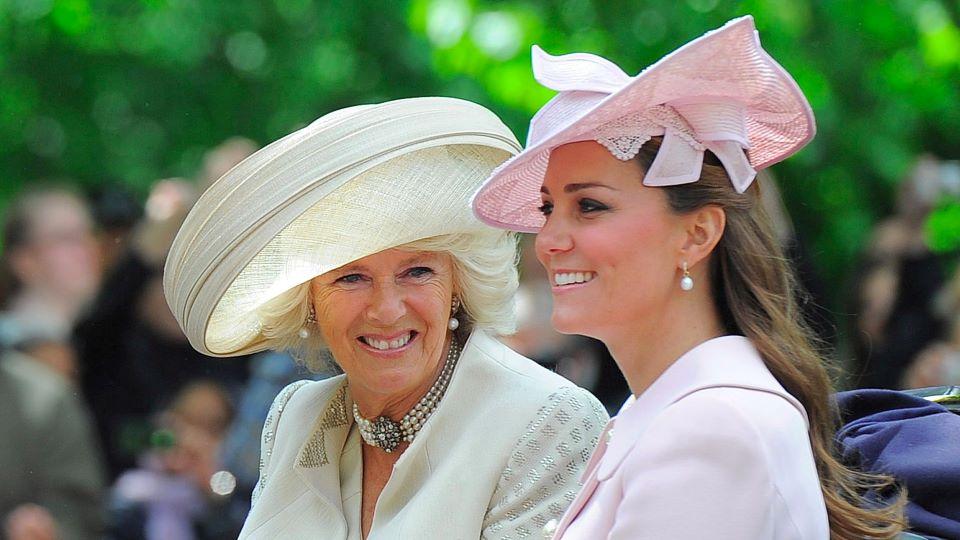 Camilla, Duchess of Cornwall & Kate Middleton