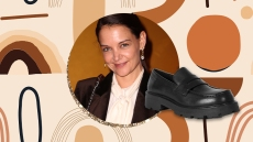 Yes, I'm Buying These Loafers Just Because Katie Holmes Has Them