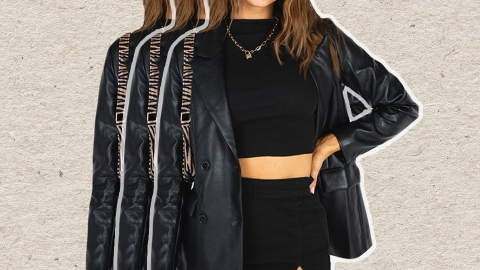 Instagram Has Inspired Me To Invest In A Leather Blazer | StyleCaster