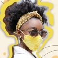 Lele Sadoughi's Stylish Face Masks Just Went On Sale...