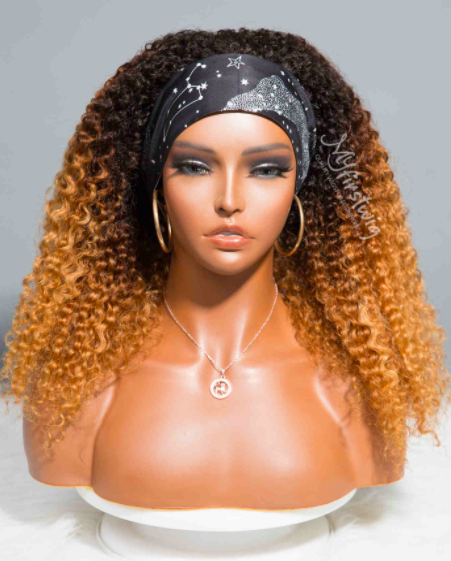 leo zodiac collection human hair ombre curly Headband Wigs Are Trending Like Crazy & Here Are My Favorites
