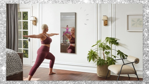 Lululemon's New Fitness Mirror Is Cheaper Than Your Monthly Gym Membership | StyleCaster