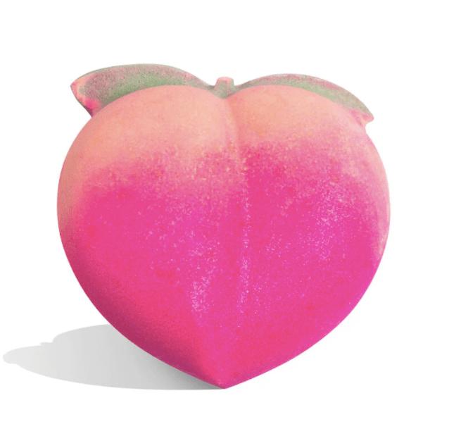 Lush. peach