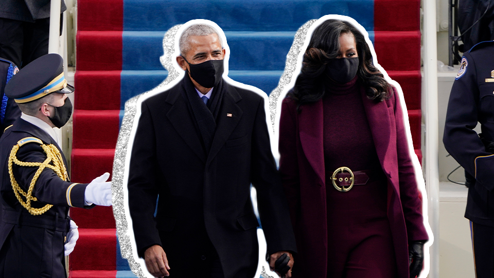 Michelle Obama's Glam Inauguration Look Just Took My Breath Away