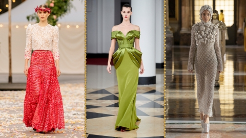 These Paris Fashion Week SS21 Couture Looks Give Me So Much Serotonin | StyleCaster