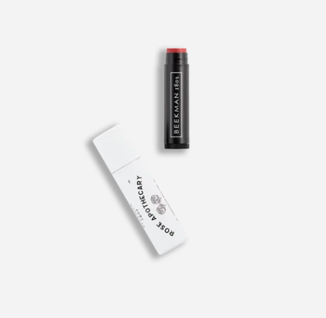 rose apothecary tinted lip balm Schitts Creek Stans: The Sold Out Beekman 1802 x Rose Apothecary Collection Is BACK