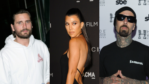 Here's How Scott Disick Really Feels About Kourtney Kardashian & Travis Barker Dating | StyleCaster