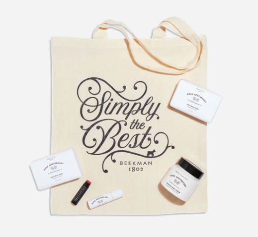 simply the best tote bundle Schitts Creek Stans: The Sold Out Beekman 1802 x Rose Apothecary Collection Is BACK