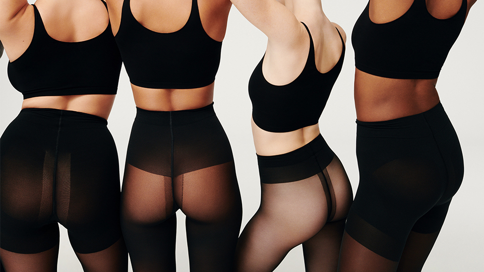 SKIMS Hosiery Just Dropped, So Tights Are Officially Cool Now