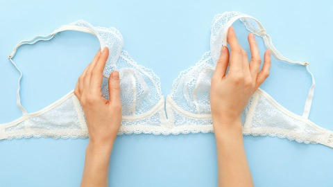 This TikTok Hack Turns That Bra You Never Wear Into The Cutest Bralette   StyleCaster