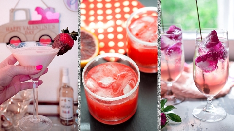 10 Valentine's Day Cocktails That Taste Like Falling In Love | StyleCaster