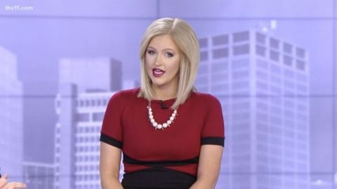 This Newscaster Is Going Viral On TikTok For Her Luxe-Looking $1 Lipstick   StyleCaster