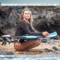 Teen Surfing Sensation Annie Reickert On TikTok, Surfing...