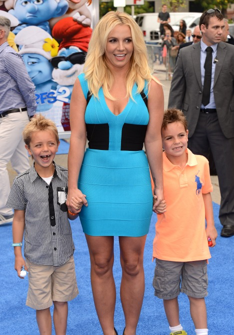 Britney Spears Kids 2 Britney Spears Sees Her Sons Less After Ex Kevin Federline Changed Their Custody Agreement