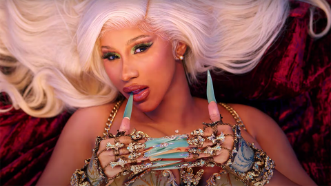 Cardi B Full-On Made Out With Her Backup Dancers in Her 'Up' Music Video | StyleCaster