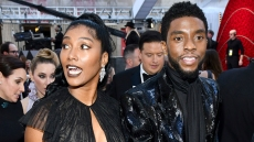Chadwick Boseman Won a Posthumous Golden Globe & His Wife's Speech Brought Us to Tears