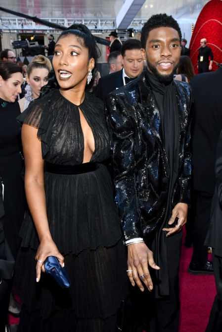 Chadwick Boseman Taylor Simone Ledward 2 Chadwick Boseman Secretly Married His Wife Months Before His Death—Heres What to Know About Her