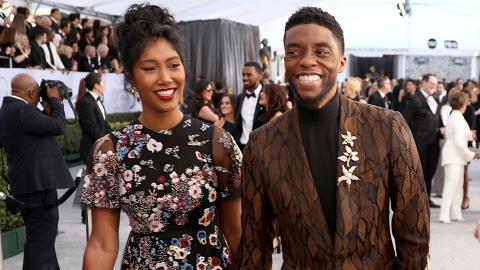 Chadwick Boseman Secretly Married His Wife Months Before His Death—What to Know About Her | StyleCaster