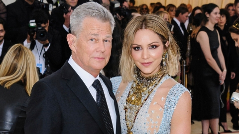 Katharine McPhee, 36, & David Foster, 71, Just Welcomed Their 1st Child Together | StyleCaster
