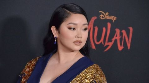 Lana Condor Looks Like a Rockstar Princess With Pink Hair | StyleCaster