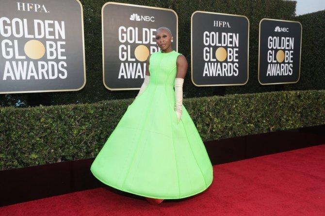 STYLECASTER | Cynthia Erivo Golden Globes