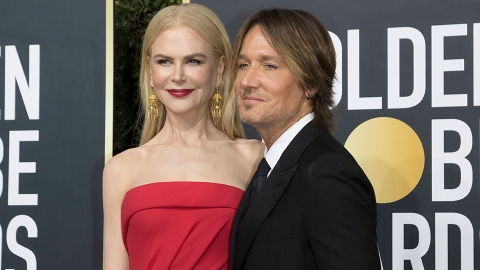 Nicole Kidman & Keith Urban Gave a Rare Look of Their Kids at the Golden Globes | StyleCaster