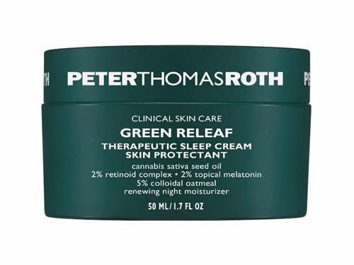 Peter Thomas Roth Green Releaf Therapeutic Sleep Cream Hailey Biebers Go To Tinted Moisturizer Is On Major Sale During Sephoras Presidents Day Blowout