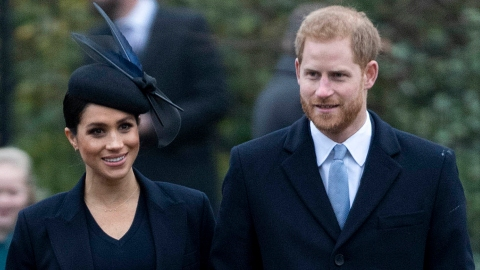 Meghan & Harry Clap Back at the Queen Saying They Can't Be of 'Service' Without the Royals | StyleCaster