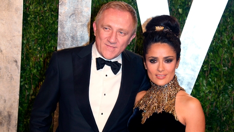Salma Hayek Just Responded to Claims She Married Her Billionaire Husband For His Money | StyleCaster