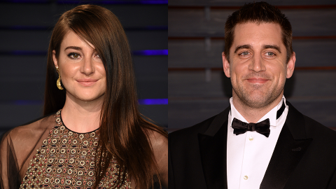 Shailene Woodley Reveals the Surprising Someone Who Convinced Her to Date Aaron Rodgers | StyleCaster