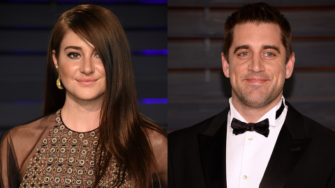 Shailene Woodley & Aaron Rodgers Are Dating & Keeping Their Romance 'Private' | StyleCaster