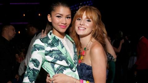 Bella Thorne Reveals She & Zendaya 'Weren't Friends' at First on 'Shake It Up' | StyleCaster