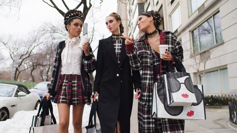 Calling All Blairs! Alice + Olivia's New Collection Is Inspired By 'Gossip Girl' | StyleCaster