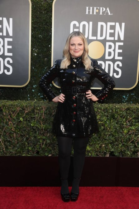 amy poeler golden globes The Most Pin Worthy Beauty Looks at the 2021 Golden Globes