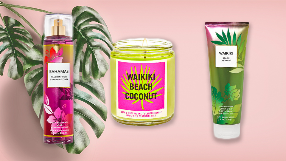 Bath & Body Works' New Collection Is A Tropical Vacation In Candle Form