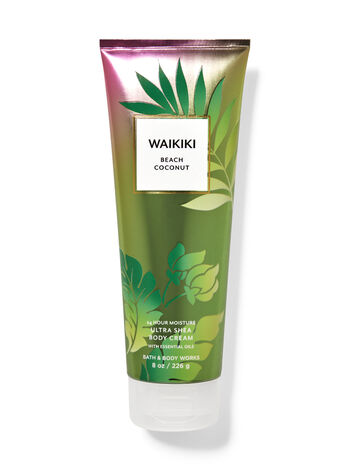 bbw body cream 1 Bath & Body Works New Collection Is A Tropical Vacation In Candle Form