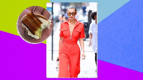 "Everyone Is Trying To Figure Out What's In Bella Hadid's ""Perfect Bite"" 