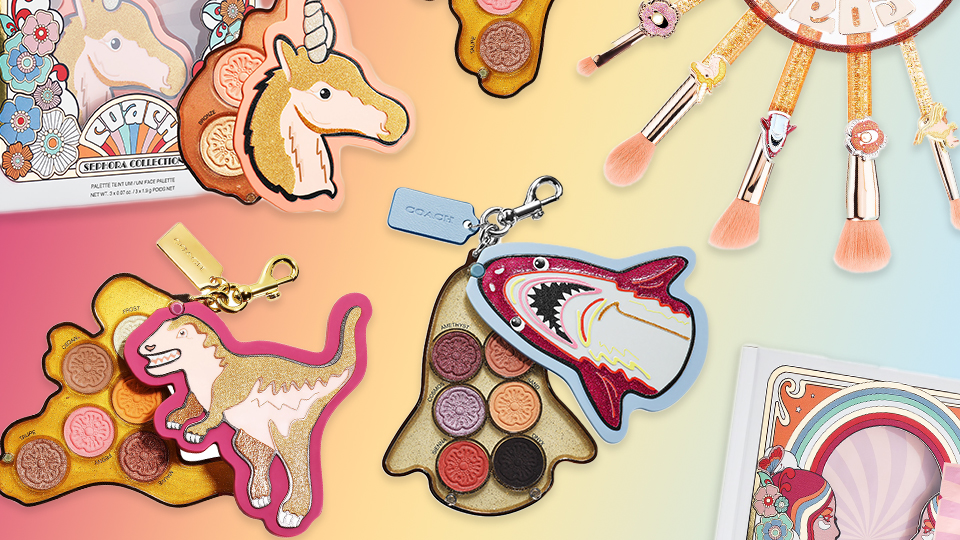 Coach & Sephora Collection Just Dropped The Most Fun Makeup Collab Of 2021