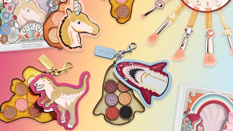 Coach & Sephora Collection Just Dropped The Most Fun Makeup Collab Of 2021 | StyleCaster