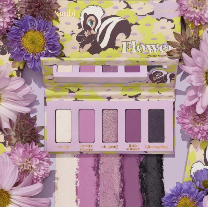 cp palette per il trucco in polvere pressata a fiori ColourPops Bambi Collection Is Your Childhood Come To Life