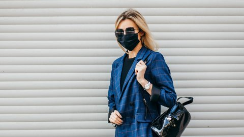 These Luxe Designer Face Masks Are Cheaper Than a New Handbag | StyleCaster