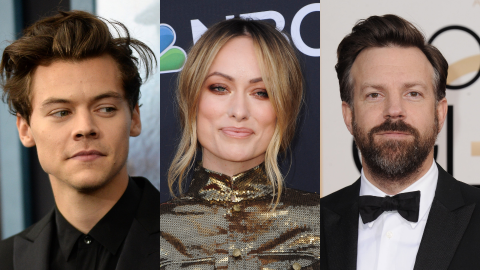 Harry Styles Doesn't Want Jason Sudeikis to Feel 'Threatened' by Him Dating Olivia Wilde   StyleCaster