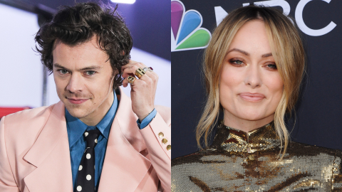 Olivia Wilde Is Already 'Falling in Love' With Harry Styles & He's Meeting Her Kids Soon   StyleCaster