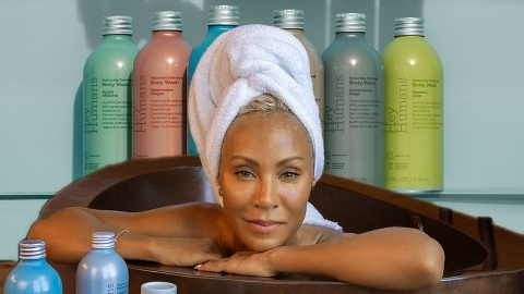 Jada Pinkett-Smith Just Rolled Out Her New Beauty Brand & Everything Is Under $6 | StyleCaster