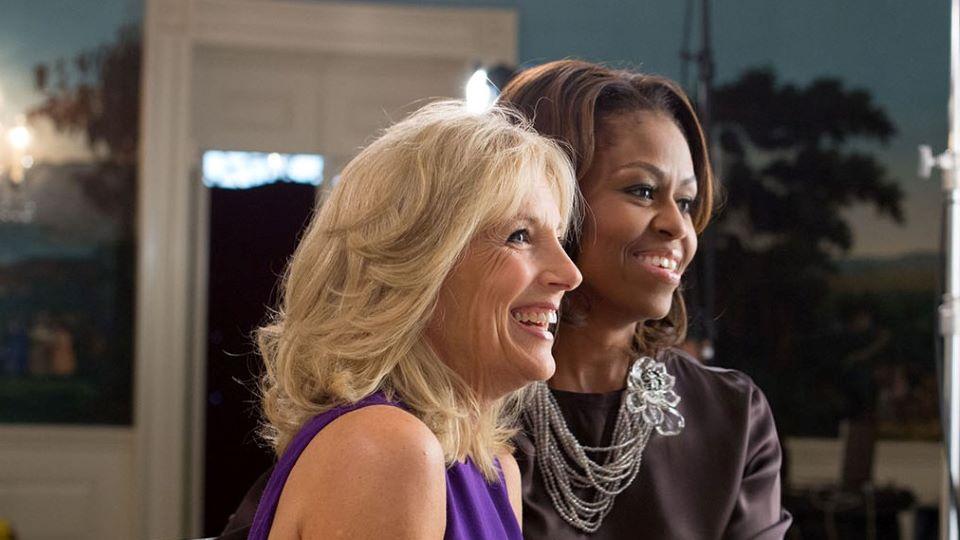 Jill Biden & Michelle Obama